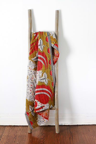 Colorful Kantha No. 609