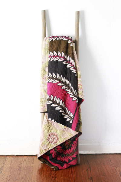 Colorful Kantha No. 620