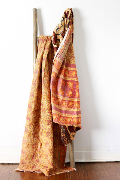Kantha Yardage - Full Sari No. 651