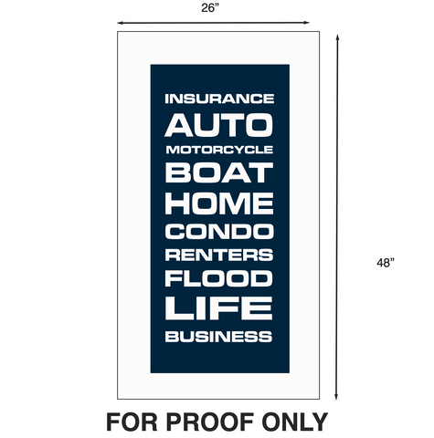 Business Sign Proof
