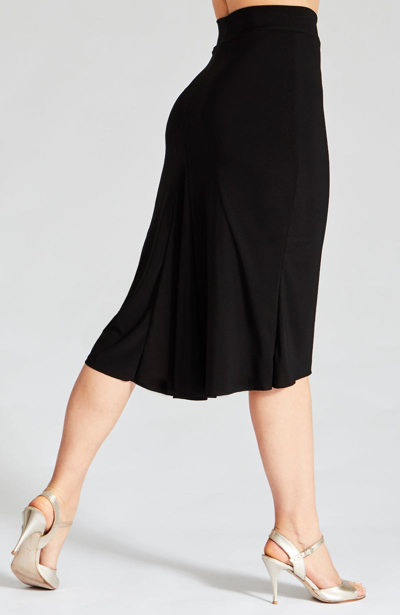 tango skirt reversible in black