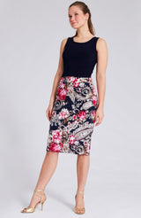 argentine tango skirt with slit