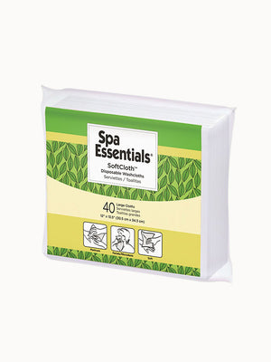Spa Essentials Soft Cloth Multi-Use Washcloth