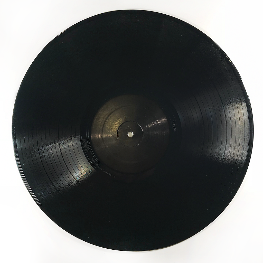 Serato Control Vinyl - The Black Label (Single)