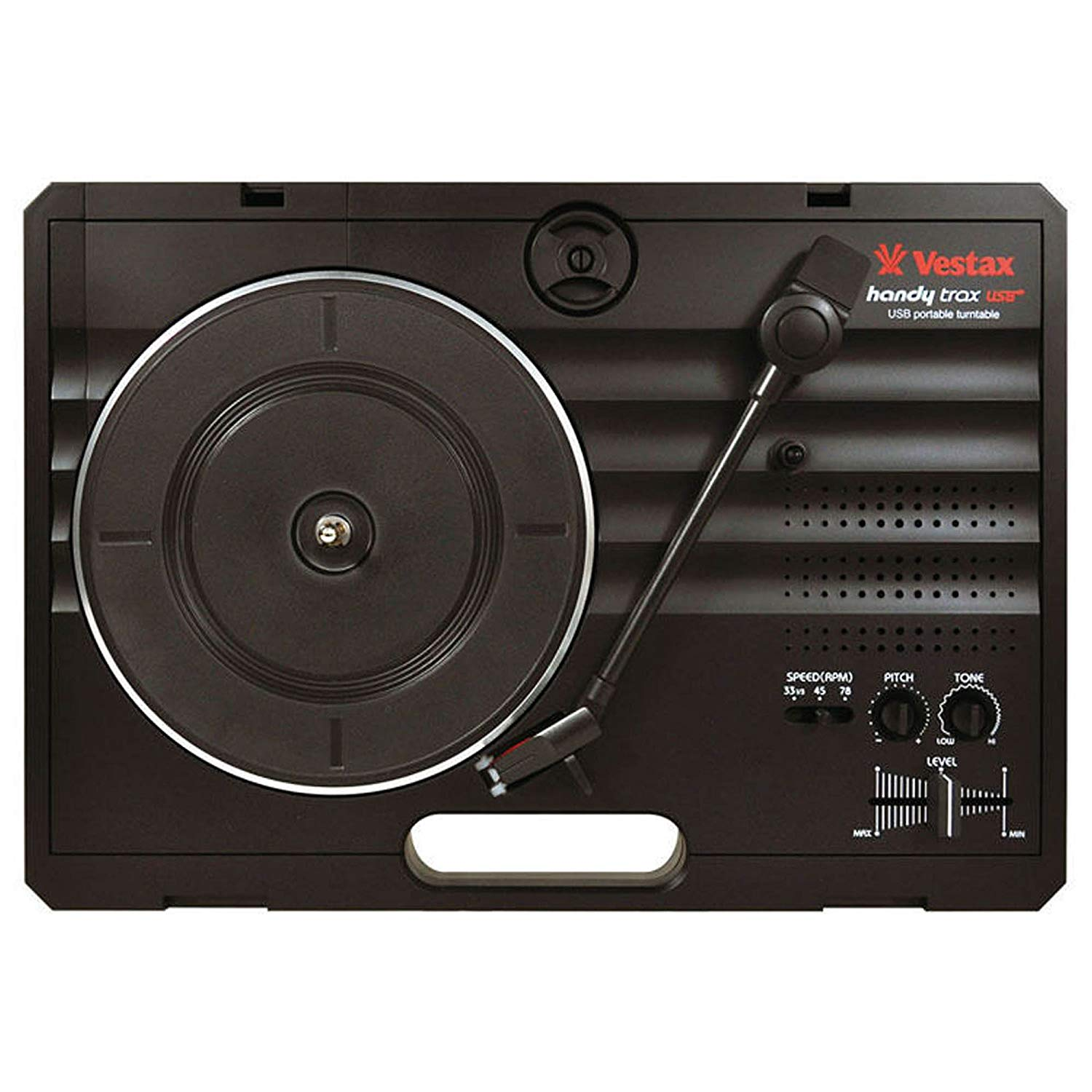 Vestax Handy Trax, Black (Portable Turntable)