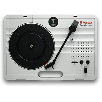 Vestax Handy Trax, White (Portable Turntable)