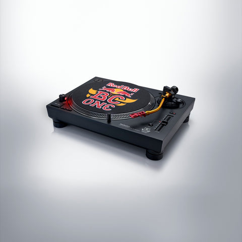 Red Bull BC ONE Technics SL-1200MK7R Direct Drive Turntable