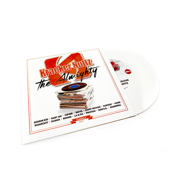 "Texas Scratch League - Kracker Nuttz: The Almighty (7"" White Edition)"