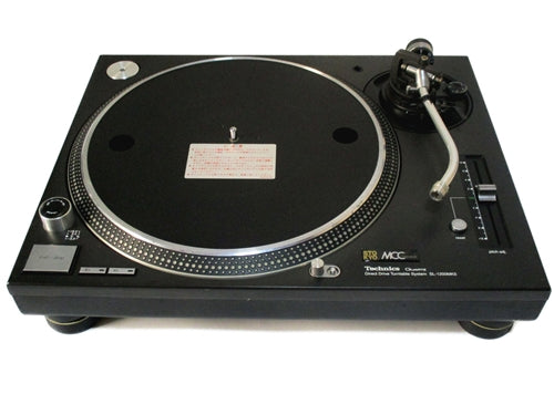 STOKYO MCC Technics SL1200MK5 Black Direct Drive Turntable - A Grade