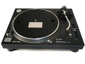 STOKYO MCC Technics SL1200MK3D Black Direct Drive Turntable - A Grade