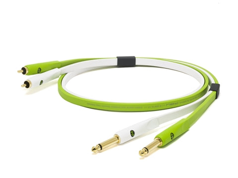 "OPEN BOX - Oyaide NEO d+ Class B RTS Cable (RCA to 1/4"" TS)"
