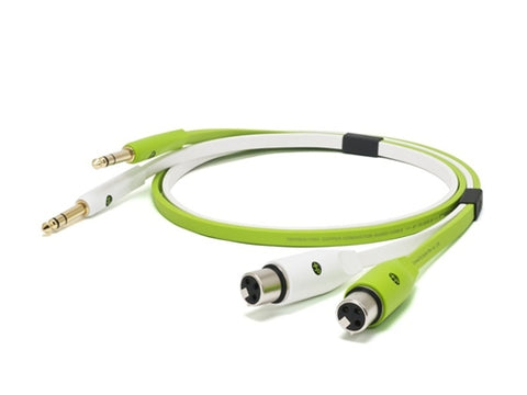 "Oyaide NEO d+ Class B XFT Cable (XLR-Female to 1/4"" TS)"