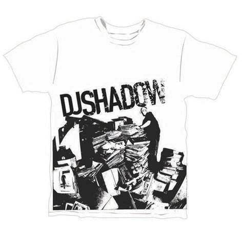 DJ Shadow Digging T-Shirt