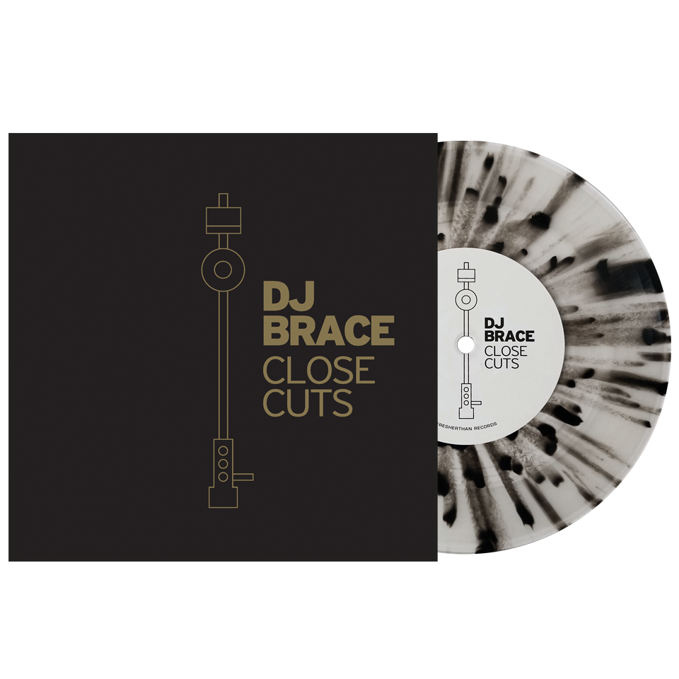 "DJ Brace ""Close Cuts"" Serato 7"" Pressing"