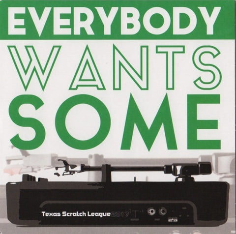 Texas Scratch League 7'' - Everybody Wants Some (Orange Vinyl)