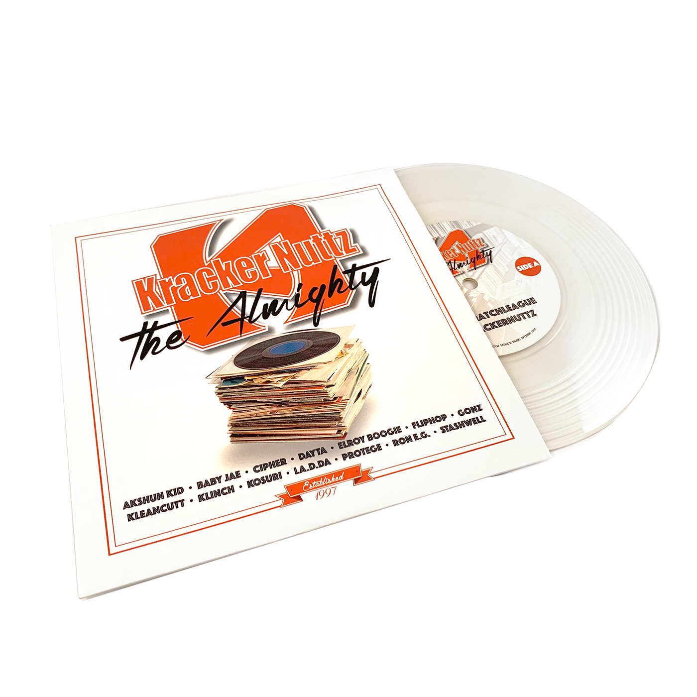 "Texas Scratch League - Kracker Nuttz: The Almighty (7"" Clear Edition)"