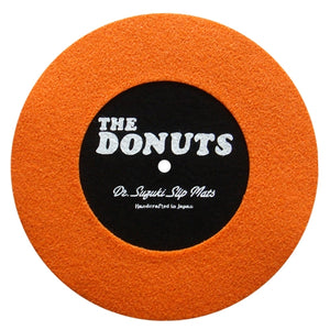 "Dr. Suzuki Donuts 7"" Slipmat - Orange & Black"