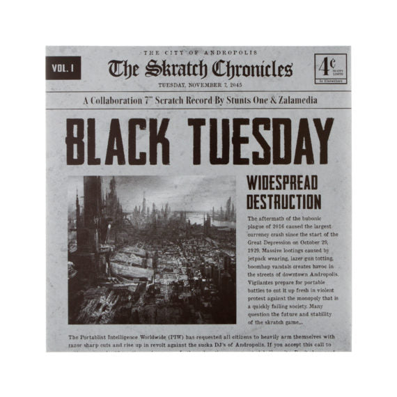 Black Tuesday 7""