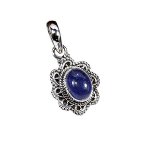 Sterling Silver Tanzanite Necklace