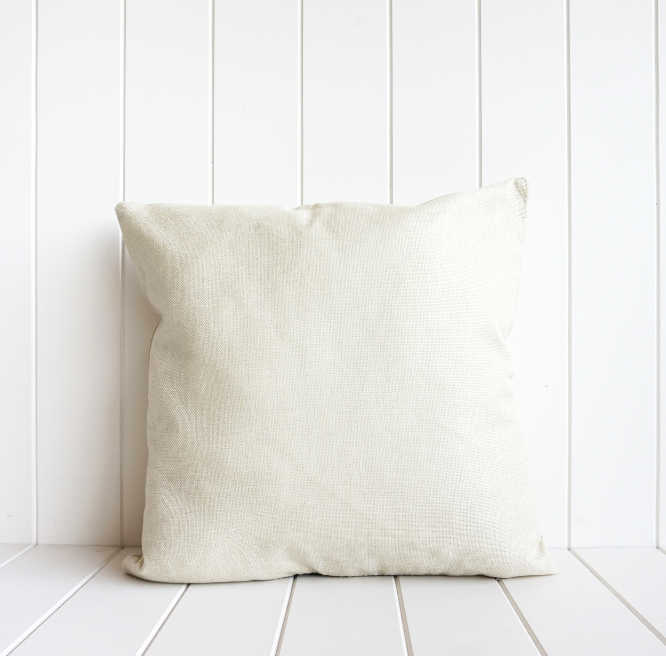 Pastel Banana Palm Cushion