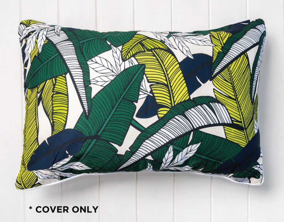 Banana Leaves Long Cushion Cover