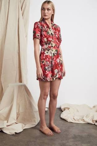 Piccolo Amalfi Floral Dress