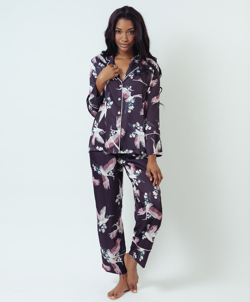CRANE LONG PAJAMA SET