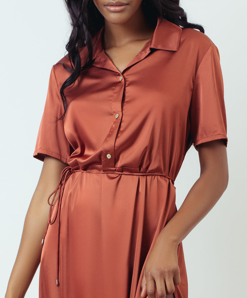MIDI SHIRTDRESS