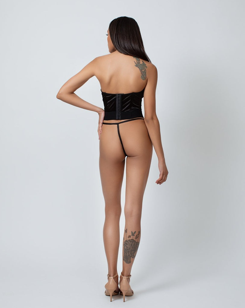SATIN & LACE G-STRING