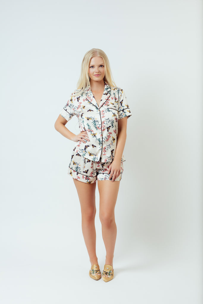 BEE SHORT PAJAMA SET