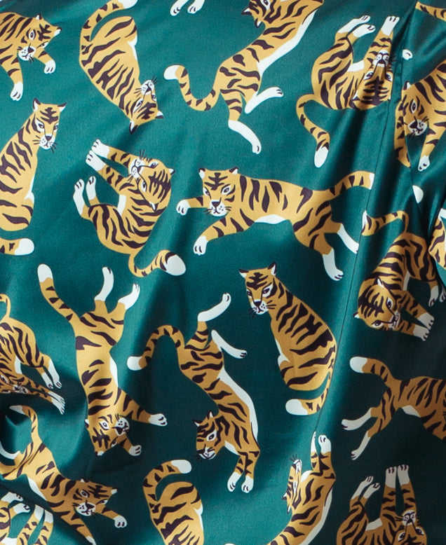 TIGER LONG PAJAMA SET