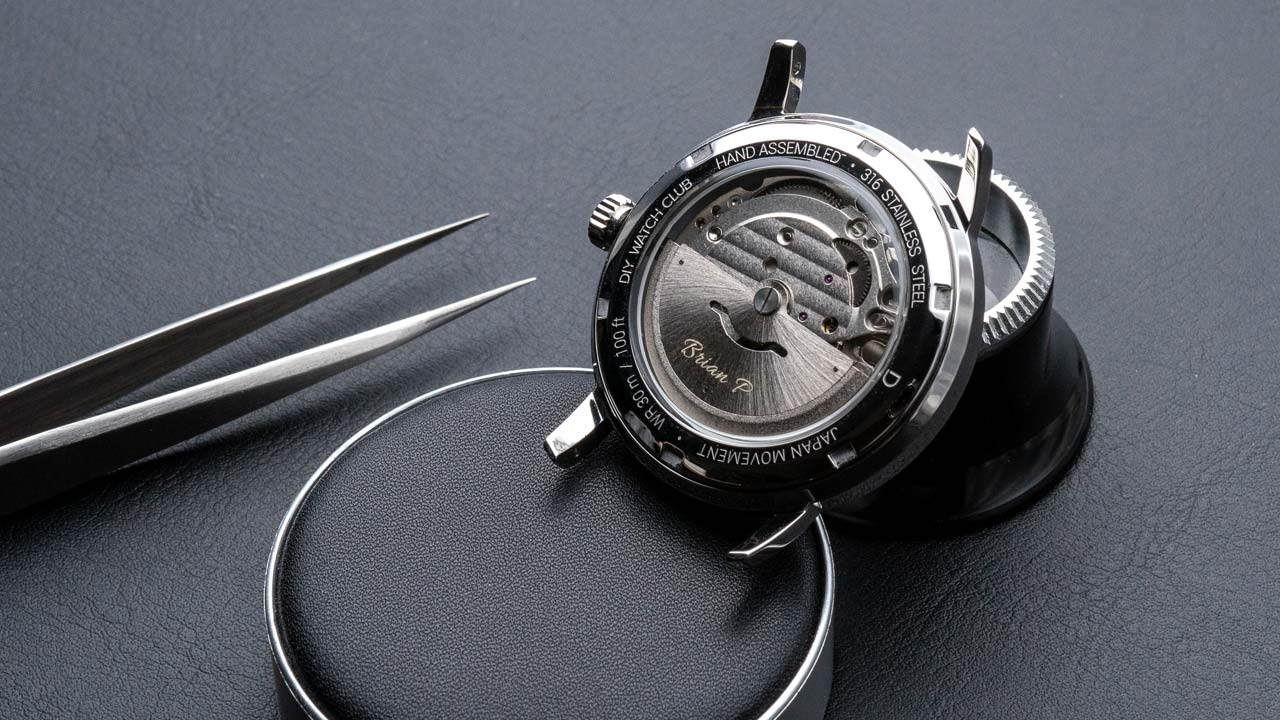 DIY Watch Club - watch modding with Miyota 82S0 custom rotor