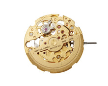 Load image into Gallery viewer, Miyota 8N24 Gold Movement