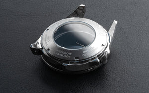 Diver Case Set - Stainless Steel - Sapphire Double Dome (DWC-CD-01)