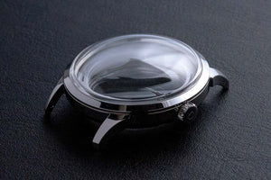 Mosel Silver Case Set - Stainless Steel (Domed ACRYLITEⓇ8N) for miyota 8 series movement
