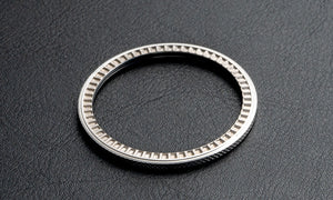 Knurled thin profile bezel - for DWC divers, Seiko SKX and 5KX/SRPD (BZ-DV-D1)