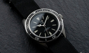 Stainless Steel Diver Bezel Insert - Type A Black (BI-DV-TN)