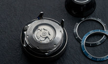 Load image into Gallery viewer, DIY Watchmaking Kit Lite | Black Dive Watch With Date - DWC-D01