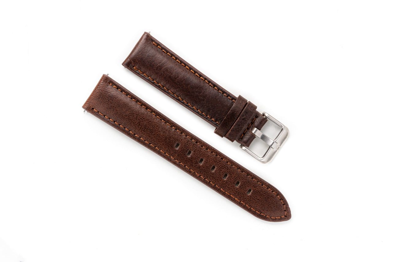 DIY Watch Club Sarto Straps -- Umber