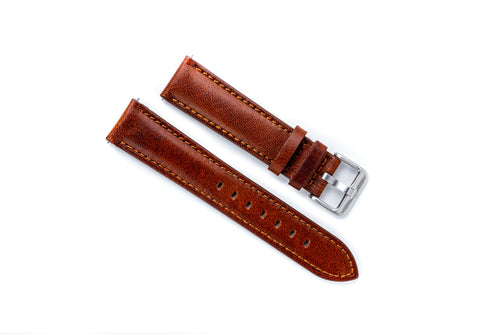 DIY Watch Club Sarto Straps -- Brown