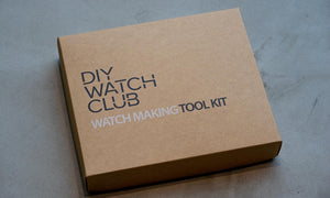 DIY Watchmaking Kit Lite | Black Dive Watch With Date - DWC-D01