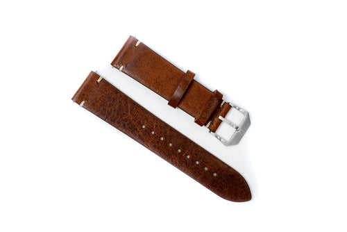DIY Watch Club Vintage Strap -- Brown