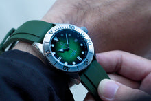 Load image into Gallery viewer, D02 Dial & Hands Bundle - Green Fume Dial for Seiko NH35