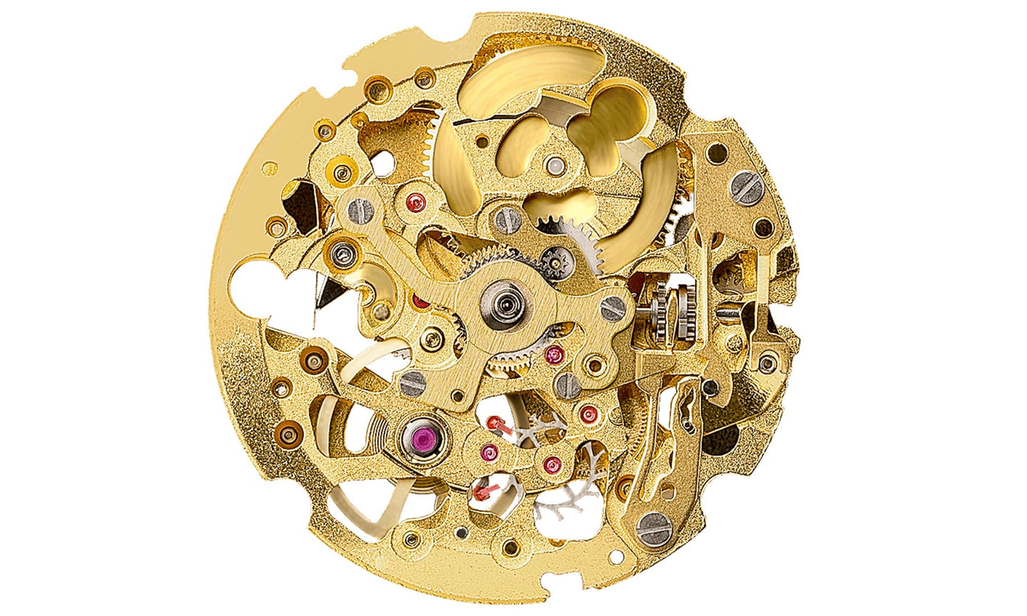 Miyota 8N24 Gold Movement
