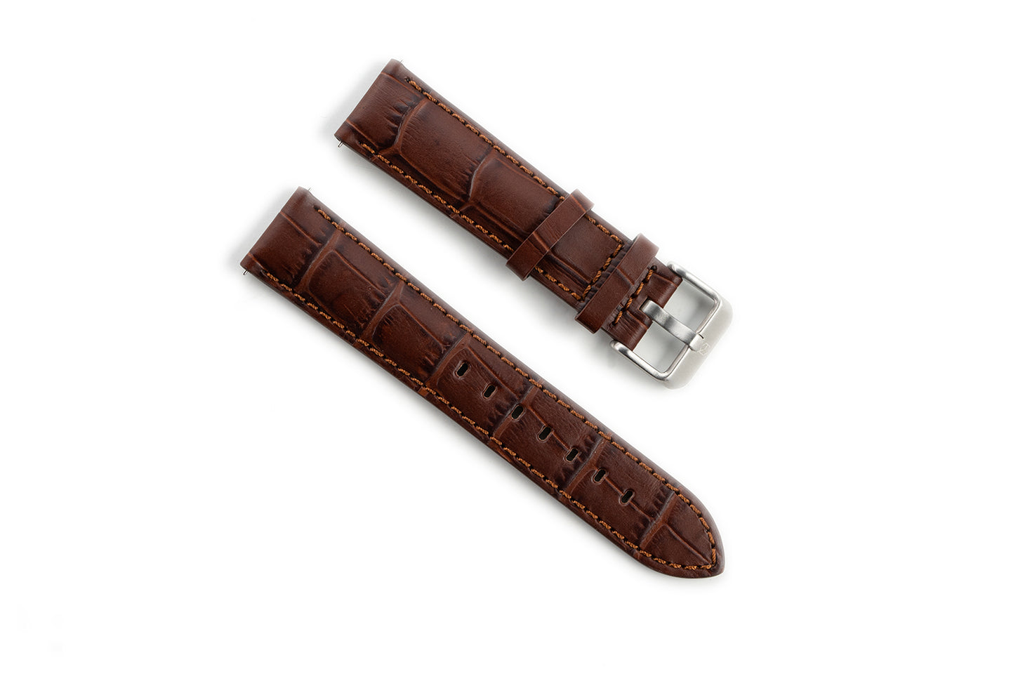 EONIQ Alligator Straps -- Brown