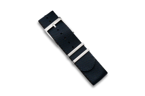 DIY Watch Club Classic NATO Strap - Navy x Black