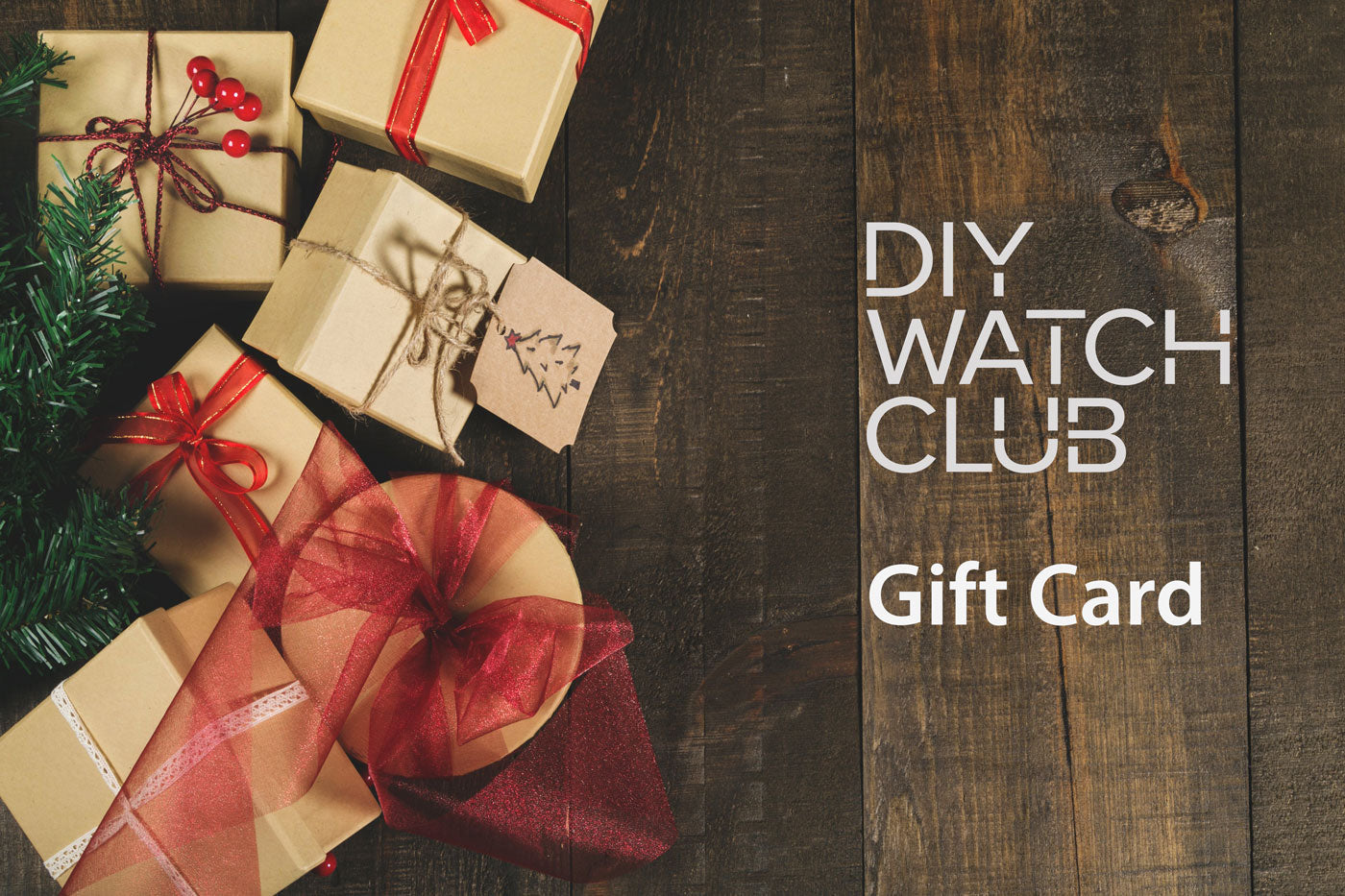 DIY Watch Club Gift Card