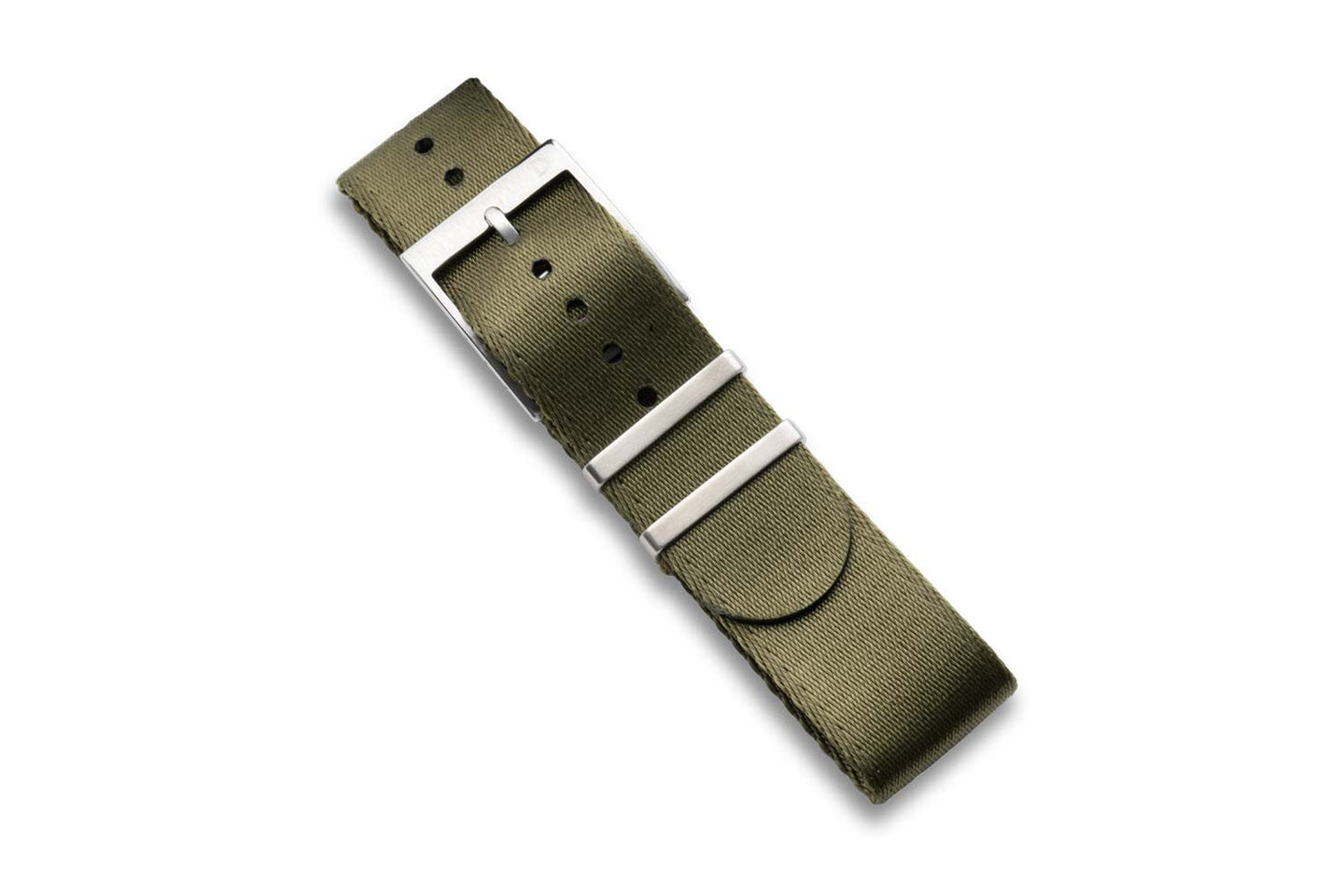 DIY Watch Club Seatbelt NATO Strap -  Olive