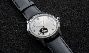 Silver Open Heart Dial | Mosel Series