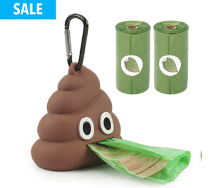 The Poop Pal Dog Poop Bag Dispenser